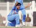 R Jadeja successfully appeals for the dismissal of England batsman Samit Patel