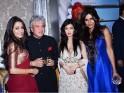 Raima Sen, Suhel Seth, Riya Sen and Nisha Jamvwal
