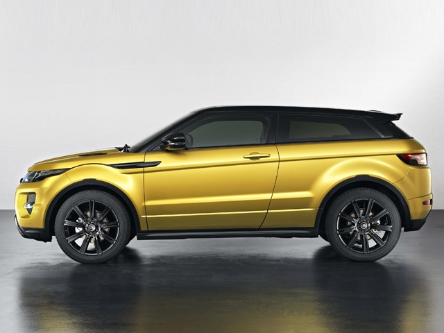 Range Rover Evoque Sicilian Yellow Edition