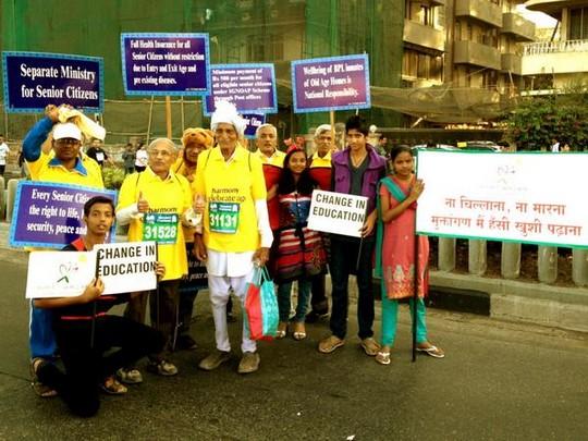 Nearly 50,000 citizens of Mumbai took part in the 2013 edition ofStandard Chartered Mumbai Marathon 2013