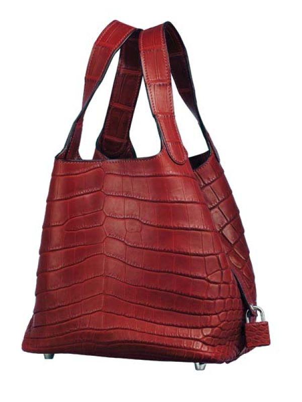 Snakeskin Bag by HermesAvailable at The Oberoi Hotel, Opp Delhi Public School, New Delhi