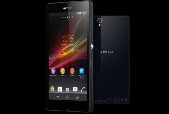 Sony Xperia Z comes with a 5-inch 1920 x 1080 display.