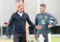 Michael Clarke and Shane Warne