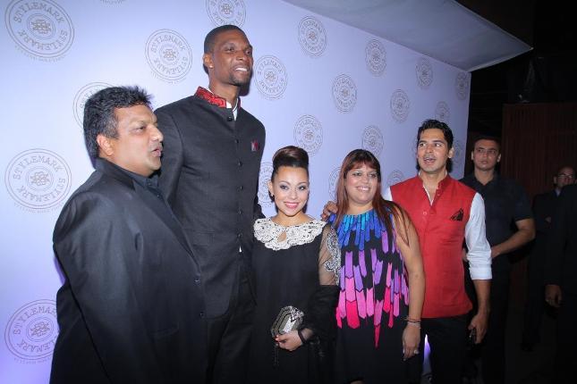 Chris Bosh in Bollywood