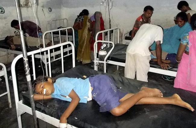 Bihar Midday Meal Disaster: Tragic Scenes