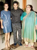 Honey Irani and Adhuna Akhtar with Farhan