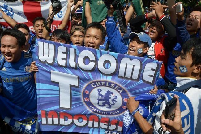 Chelsea Fever Grips Indonesia