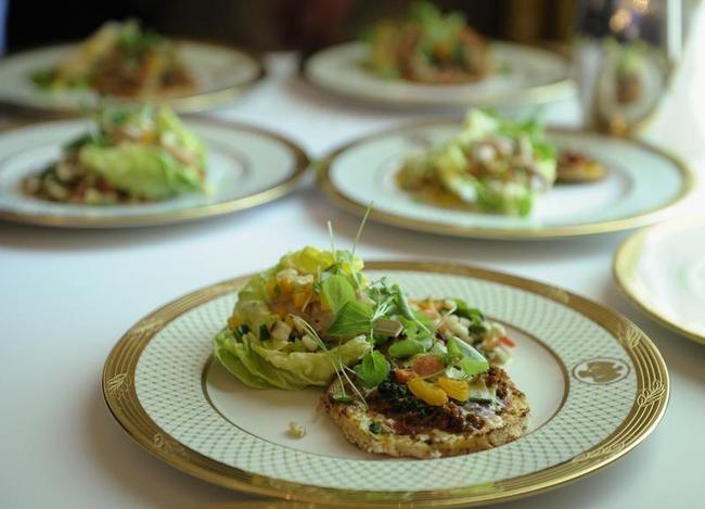 White House dinner plates