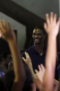 Chris Bosh in Mumbai