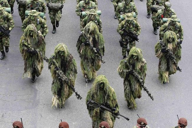 Colombian Military Parade