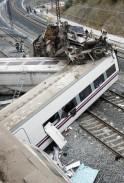 Train Derails in Spain