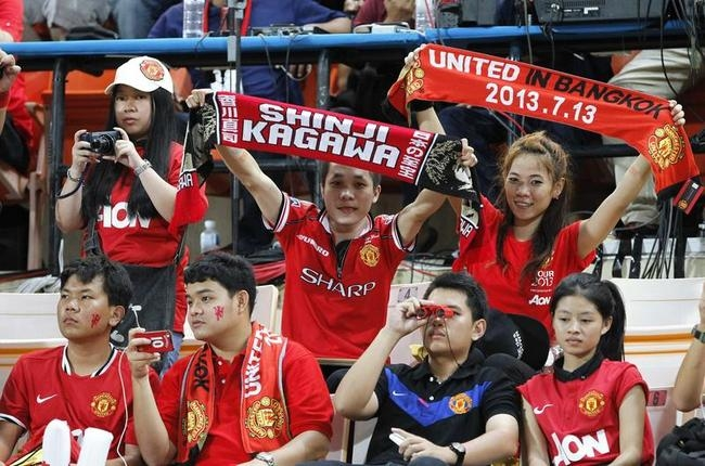 Fans Root for Manchester United