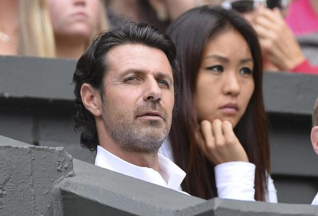 Patrick Mouratoglou-Serena Williams's coach and alleged love interest