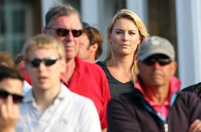 Lindsey Vonn Amidst Crowd