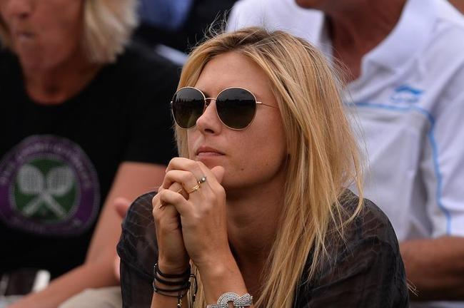 Maria Sharapova Supports Boyfriend Grigor Dimitrov
