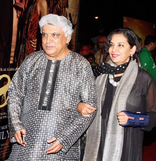Javed Akhtar, Shabana Azmi