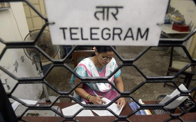 INDIA-TELECOMS-TELEGRAM