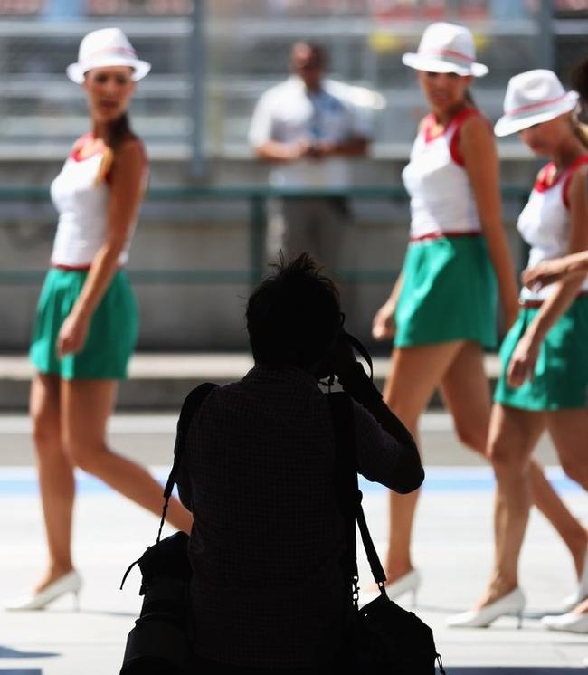 Grid Girls at Hungarian Grand Prix