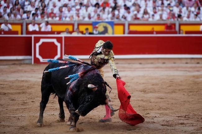 Fiesta De San Fermin Running Of The Bulls