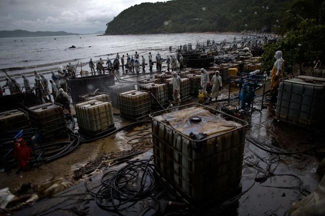 Oil Spill Hits Thailand
