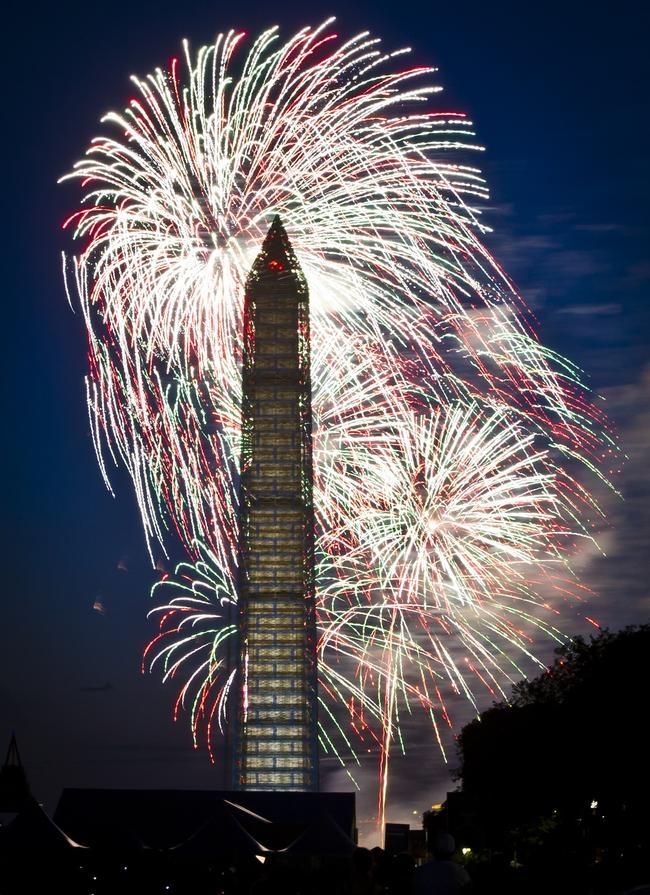America Celebrates 4th of July