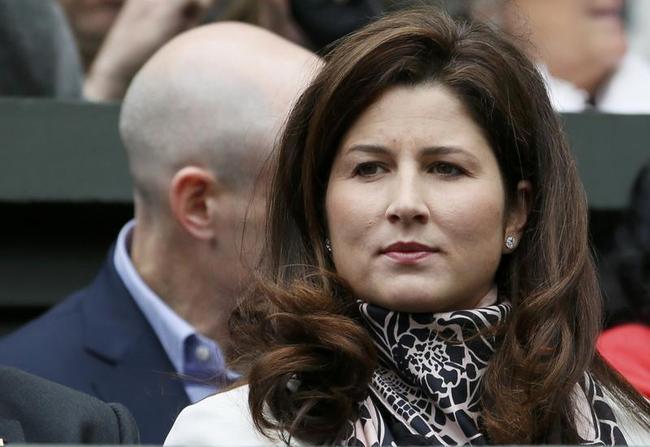 Mirka Federer, wife of Roger Federer