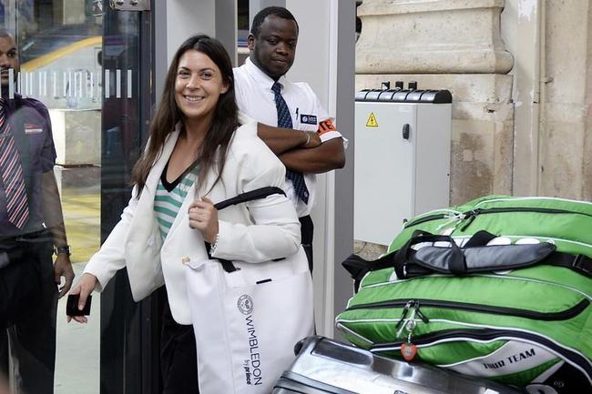Marion Bartoli Reaches Home