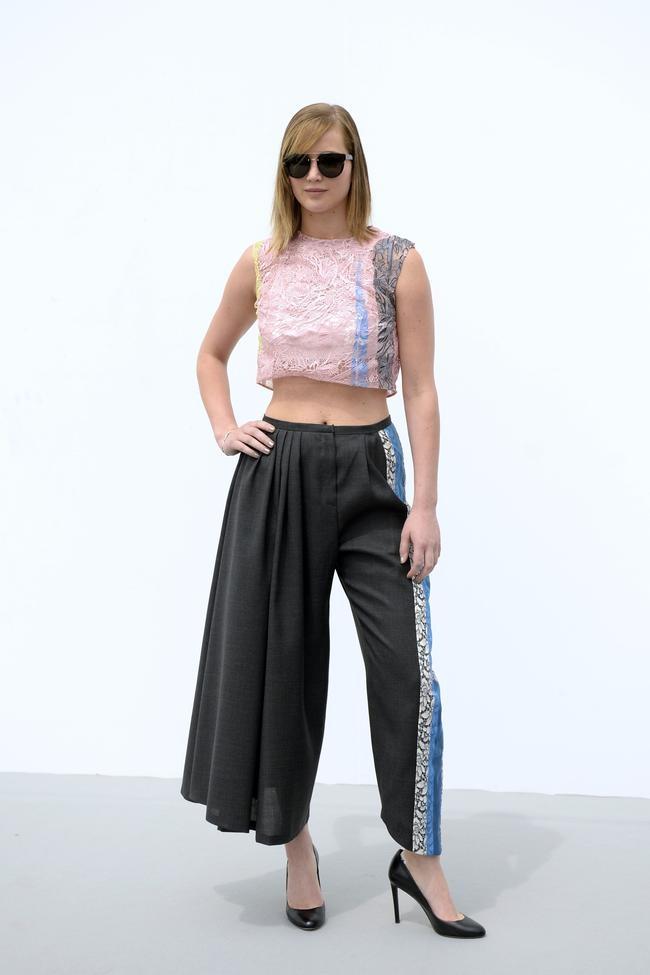 What Jennifer Lawrence Wore at Paris Fashion Week