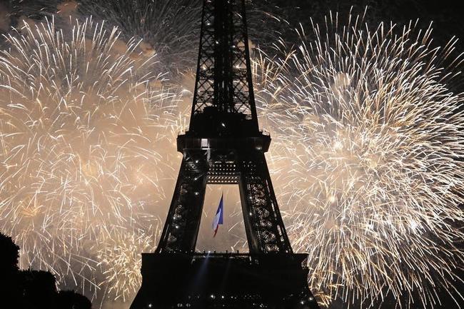 Marvellous Eiffel Tower on Bastille Day