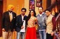 Navjot Singh Sidhu, Shah Rukh Khan, Deepika Padukone, Rohit Shetty, Kapil Sharma