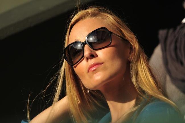 Jelena Ristic, girlfriend of Serbia's Novak Djokovic