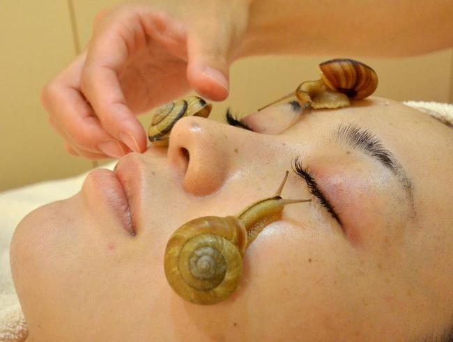 Snail Facial: Bizarre Beauty Treatment