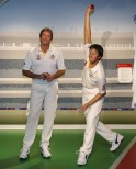 Glenn McGrath at Madame Tussauds