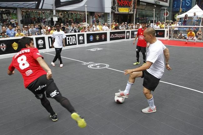 Street Soccer in New York