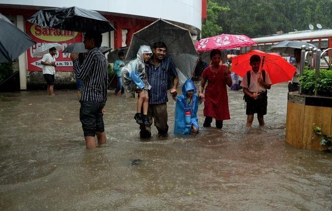 Mumbai Flooded