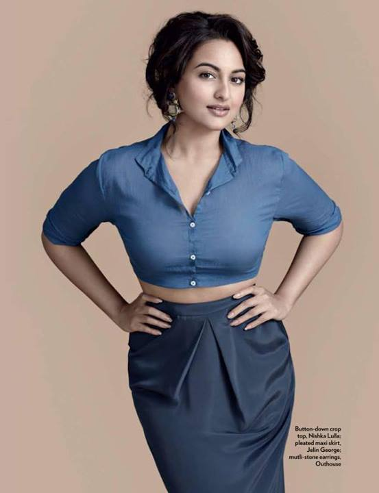 Check out Sonakshi Sinha's sensuous avatar for the Marie Claire ShootCourtesy: UTV