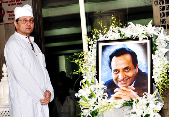 Pran's son Sunil Sikand