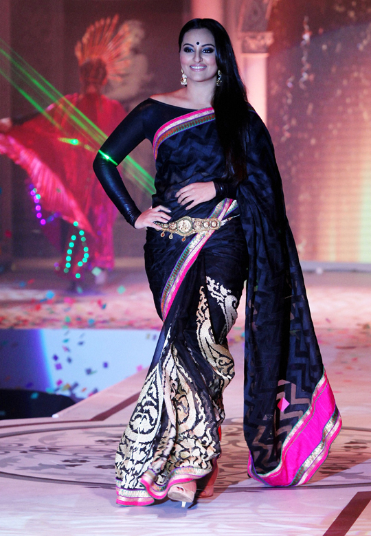 Sonakshi Sinha at a fashion show in Bangalore