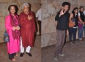 Shabana Azmi, Javed Akhtar, Farhan Akhtar