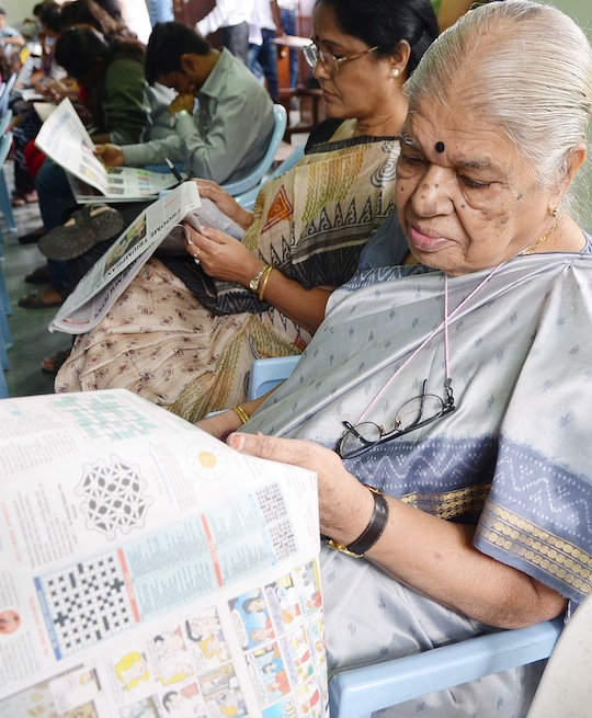 Sudoku enthusiasts of all ages came together at the Times Sudoku Championship, at  St Joseph's Boys School in Bangalore