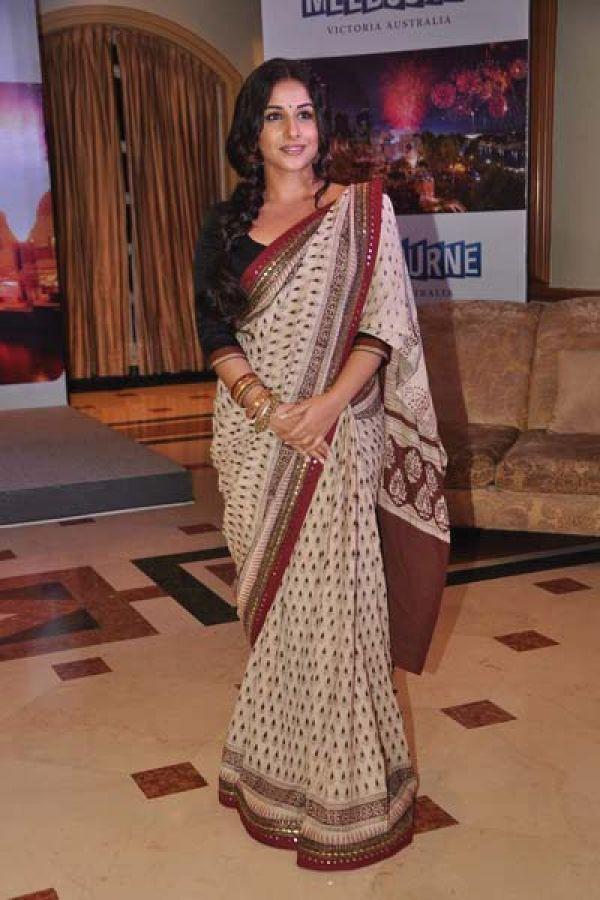 Vidya Balan at the Melbourne Indian Film Festival Press Meet
