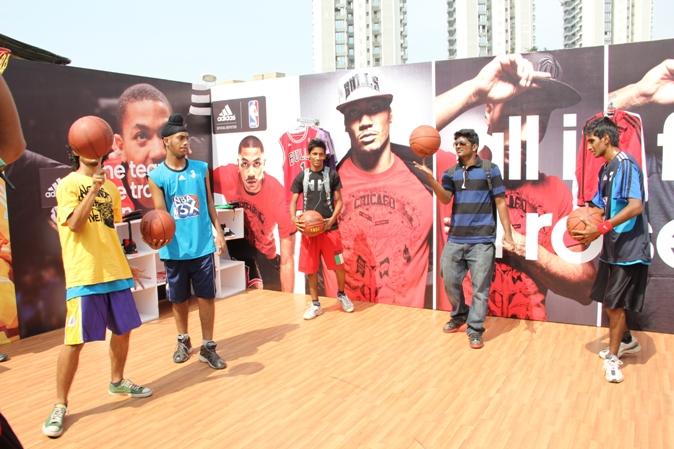 NBA Jam 2012 in Mumbai