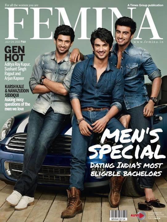 Aditya, Sushant, Arjun