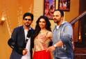 Shah Rukh Khan, Deepika Padukone, Rohit Shetty