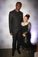 Chris & Adrienne Bosh