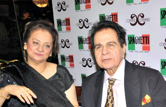 Saira & Dilip Kumar (46 years) - Saira Bano is 22 years younger than Dilip Kumar but age never came in the way of them enjoying a blissful married life. Their marriage has weathered all storms and not even once have we seen them drifting away from each other. They are as much in love as they were at the beginning of their relationship and are a perfect example of love stays young forever. They are still together and we wish them many more years of togetherness.  Some matches are just meant to be and these couples have proved that. We hope more and more star couples are able to withstand the harsh world that's Bollywood and make their romance triumph against all odds.