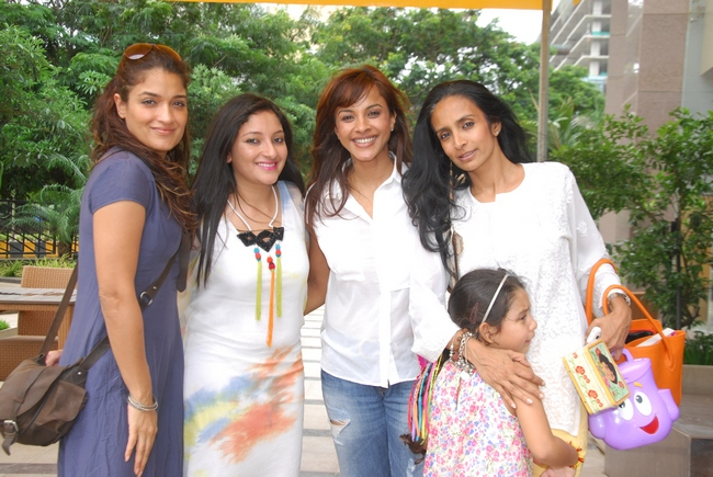 Singer Manasi Scott hosted a brunch party to celebrate the launch of the book 'Never Say Never' by Anjali Kirpalani.