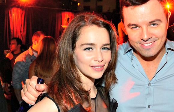Emilia Clarke-Seth MacFarlane