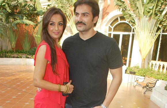 Malaika & Arbaaz Khan