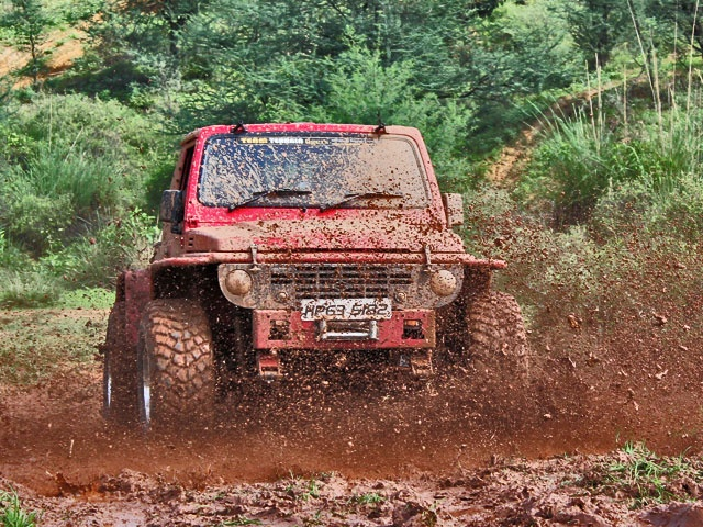 Monster 4x4 in Action